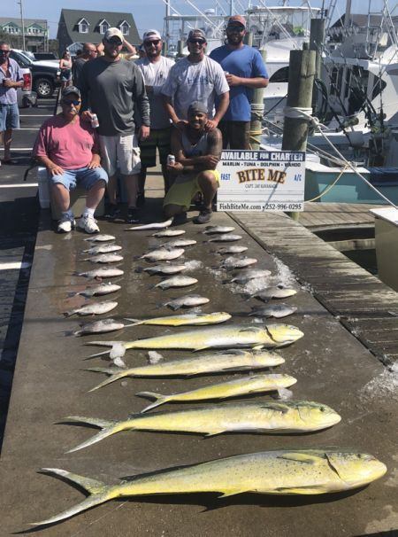 Bite Me Sportfishing Charters, RVA Buds