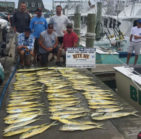 Bite Me Sportfishing Charters, Bailerszzzzzzzzzz