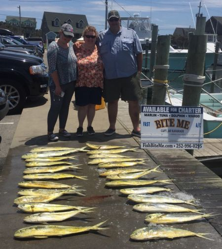 Bite Me Sportfishing Charters, Lets Go Mountaineers!