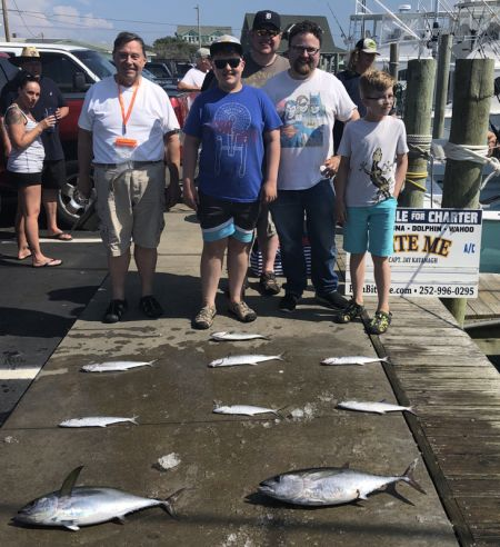 Bite Me Sportfishing Charters, slow fishing, we tried hard