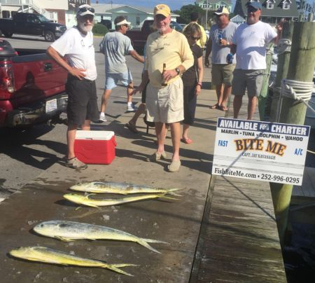 Bite Me Sportfishing Charters, Searching for Marlins