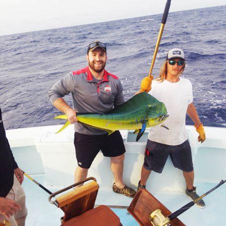 Tuna Duck Sportfishing, Springtime Mahi