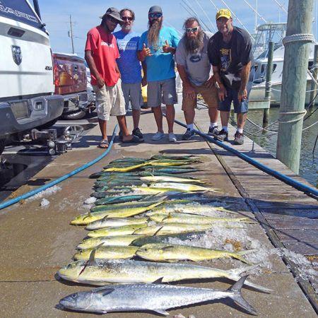 Tuna Duck Sportfishing, Beautiful Gulf Stream Day...Again!