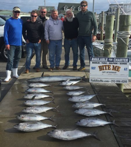 Bite Me Sportfishing Charters, Lucky Crew!