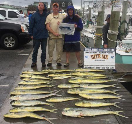 Bite Me Sportfishing Charters, Blue Marlin and Mahi!