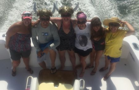 Bite Me Sportfishing Charters, Viking Women!