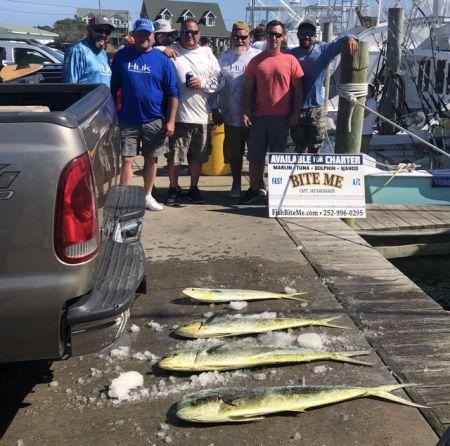 Bite Me Sportfishing Charters, Garrett's Family and Friends