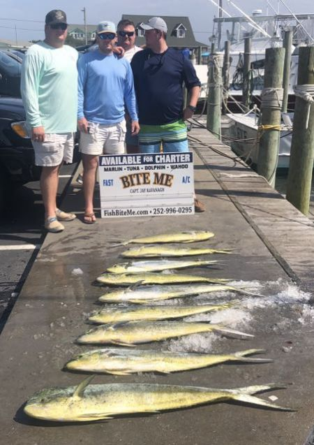 Bite Me Sportfishing Charters, New Friends
