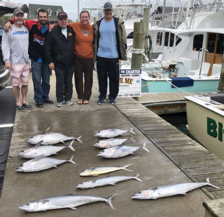 Bite Me Sportfishing Charters, Cold Front!