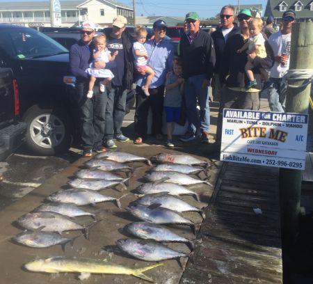 Bite Me Sportfishing Charters, Tunas!