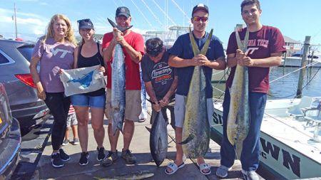 Tuna Duck Sportfishing, Nice Variety