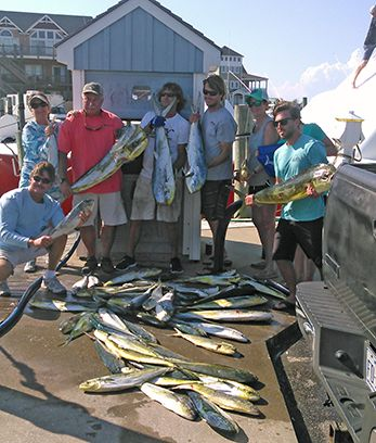 Tuna Duck Sportfishing, Marlin Release and Dolphin Today