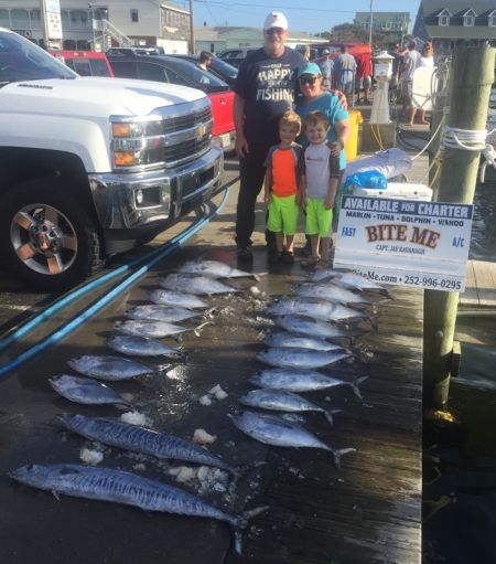 Bite Me Sportfishing Charters, Wahoos and Tunas!