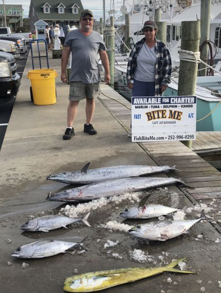 Bite Me Sportfishing Charters, Meat Slam  Mixed Grill!