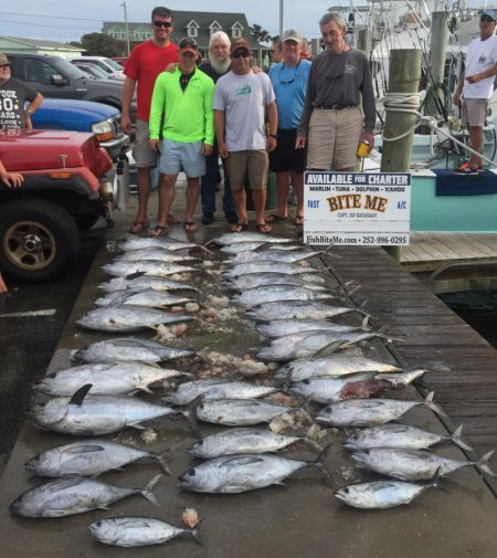 Bite Me Sportfishing Charters, Tunas Tunas Tunas!