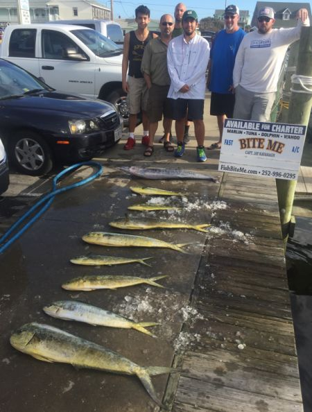 Bite Me Sportfishing Charters, Wahoo and dolphin