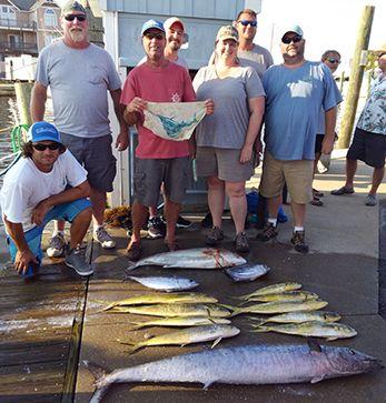 Tuna Duck Sportfishing, Good Variety