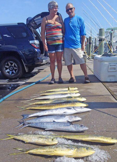 Tuna Duck Sportfishing, Mahi, Kings, and Barracuda
