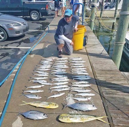 Tuna Duck Sportfishing, Varied Catch