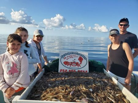 Grandpa's Charters, Loaded: Shrimp & Crabs!