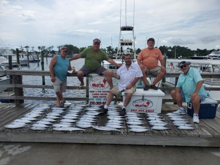 Grandpa's Charters, Full day Fishing