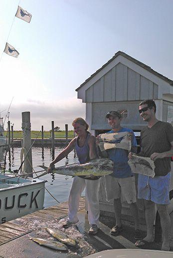 Tuna Duck Sportfishing, Two Sailfish Released