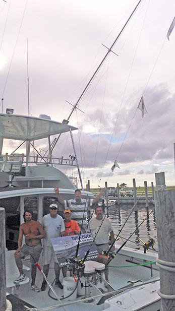 Tuna Duck Sportfishing, 4 Sailfish Released Today