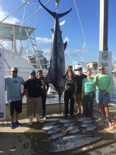 Bite Me Sportfishing Charters, Great day back in Hatteras