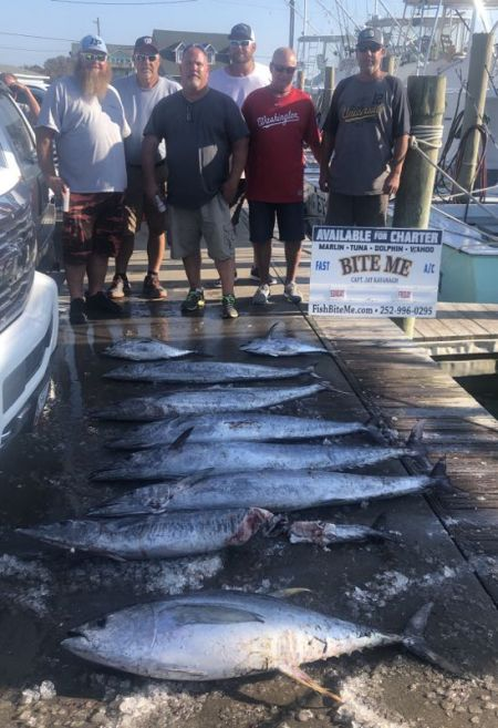 Bite Me Sportfishing Charters, Great Fall Fishing Wahoos and Tunas!