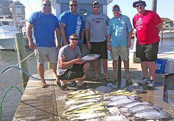 Tuna Duck Sportfishing, Fun on the Duck Today