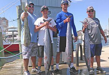 Tuna Duck Sportfishing, Late Summer Wahoo