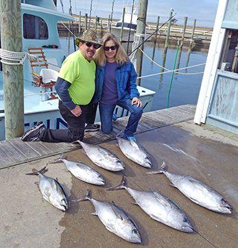 Tuna Duck Sportfishing, Honeymoon Cruise on Valentine's Day
