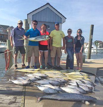 Tuna Duck Sportfishing, Meat Slam!