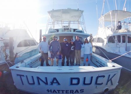 Tuna Duck Sportfishing, Tuna Duck Returns Home
