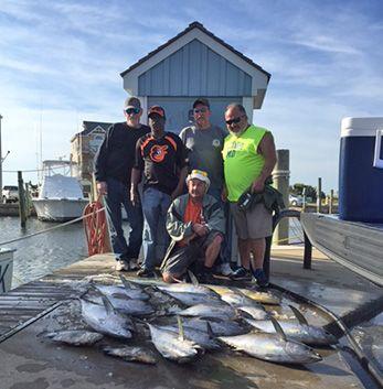 Tuna Duck Sportfishing, Beautiful Fishing Day