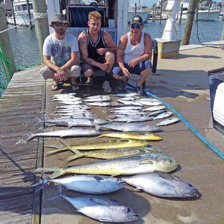 Tuna Duck Sportfishing, Mother Ocean's Bounty