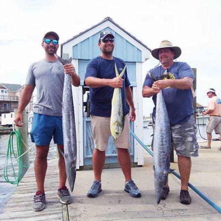 Tuna Duck Sportfishing, Weather Broke, Wahoo and Dolphin Today