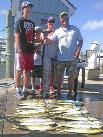 Tuna Duck Sportfishing, Family Fun: Wahoo and Dolphin