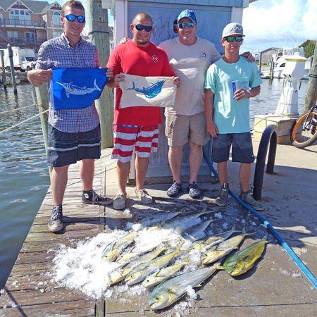 Tuna Duck Sportfishing, Billfish Releases and Mahi