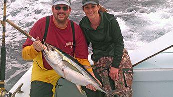 Tuna Duck Sportfishing, Excellent Yellowfin Fishing