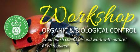 Elizabethan Gardens, Organic and Biological Control of Pests & Disease Workshop