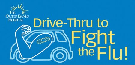 The Outer Banks Hospital, Drive-Thru to Fight the Flu