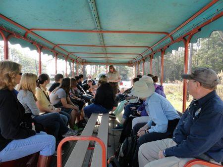 Alligator River National Wildlife Refuge, Alligator River Van Tour