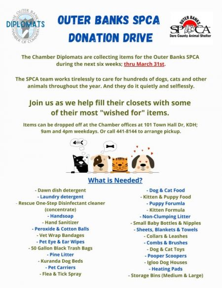 Mulligan's Grille, Donation Event for the OBX SPCA