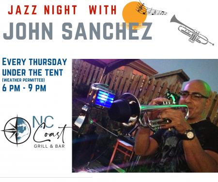 NC Coast Grill & Bar, Jazz with John Sanchez