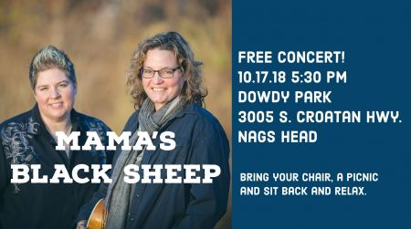 Town of Nags Head, Mama's Black Sheep Free Concert
