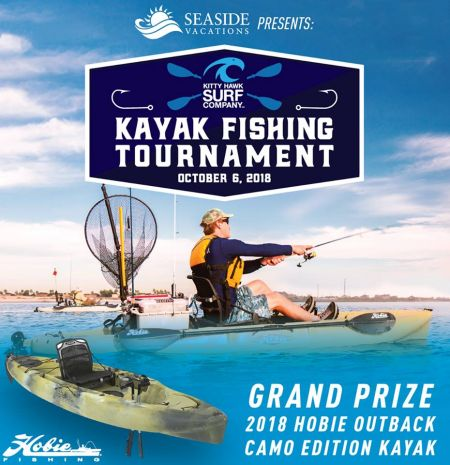 Kitty Hawk Surf Co., Kayak Fishing Tournament