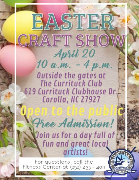 OBX Events, Easter Craft Show