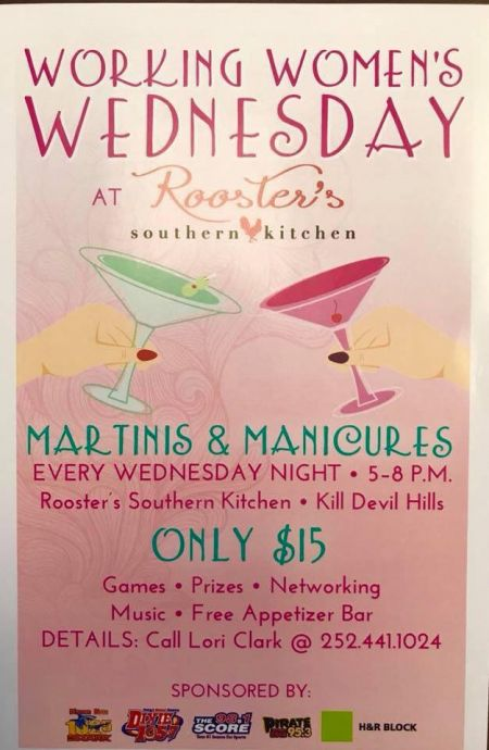Rooster's Southern Kitchen, Working Women's Wednesdays