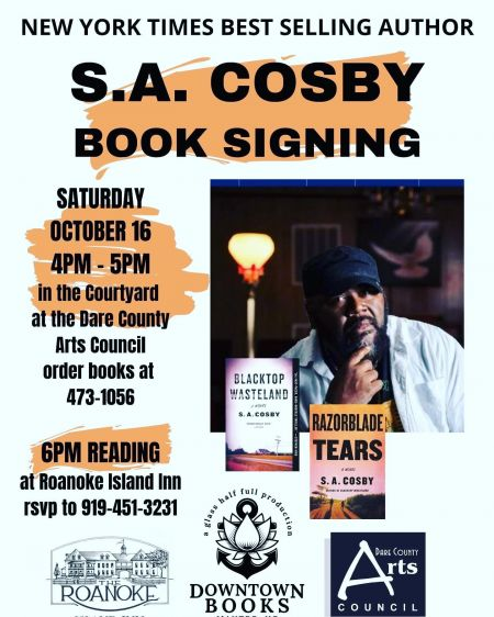 Downtown Books, S.A. Cosby Book Signing